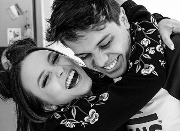 Larissa Manoela e Leo Cidade (Foto: Reprodução/Instagram)
