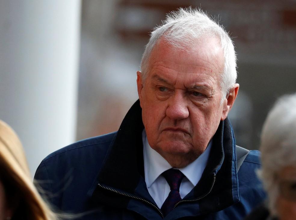 David Duckenfield era o policial responsável pela segurança do jogo e não tem veredito — Foto: Reuters