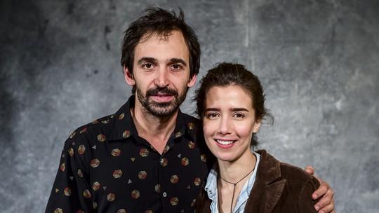 Marjorie Estiano e Julio Andrade comentam química de personagens em 'Sob Pressão'