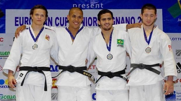 Judoca do Flamengo conquista medalha de bronze na Copa Europeia