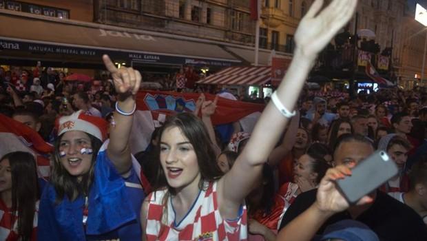 O futebol é um dos esportes mais famosos na Croácia, país com pouco mais de 4 milhões de habitantes (Foto: EPA via BBC)