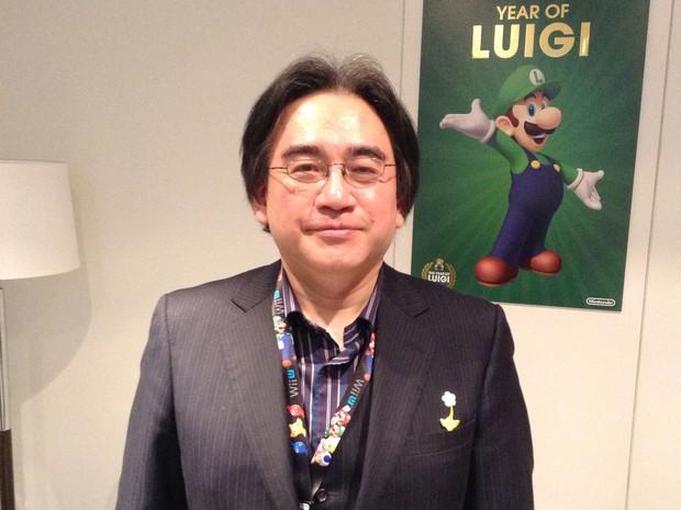 LUTO: Morre aos 55 anos Satoru Iwata, Presidente e CEO da Nintendo