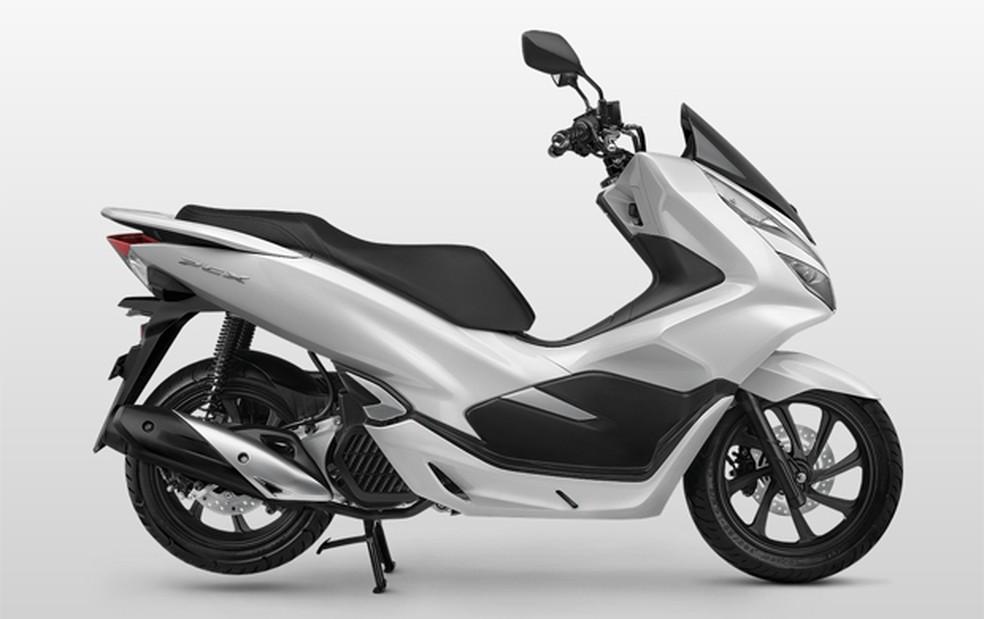 Novo Honda PCX lançado na Indonésia  (Foto: Honda/Divulgação)