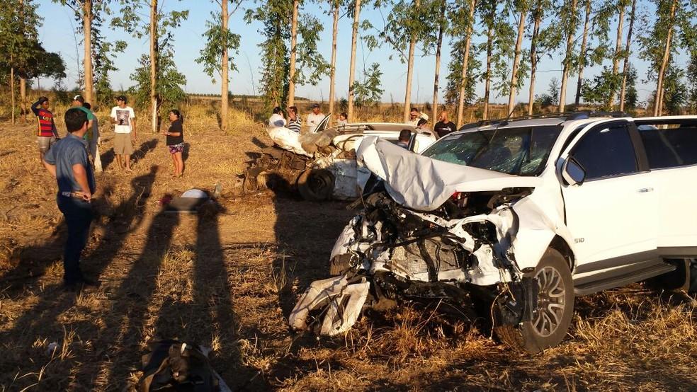 Acidente ocorreu na tarde desta quinta (17) (Foto: Blog do Sigi Vilares)