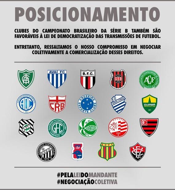 Clubes Da Serie B Se Manifestam A Favor Da Mp Que Altera Regras Dos Direitos De Transmissao De Futebol Brasileirao Serie B Ge