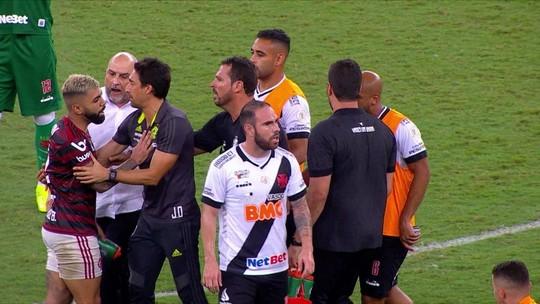 """Campello cita desrespeito de Gabigol e defende gerente do Vasco após agressão: """"Muito mimimi"""""""