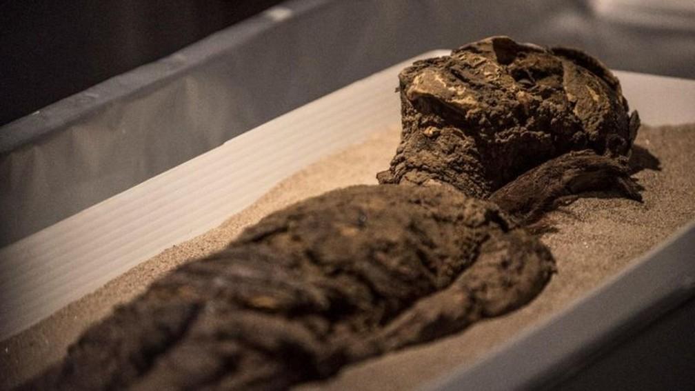 Múmias da cultura chinchorro foram incluídas na Lista do Patrimônio Mundial pela Unesco nesta semana — Foto: Imagen de Chile/Felipe Cantillana (via BBC)