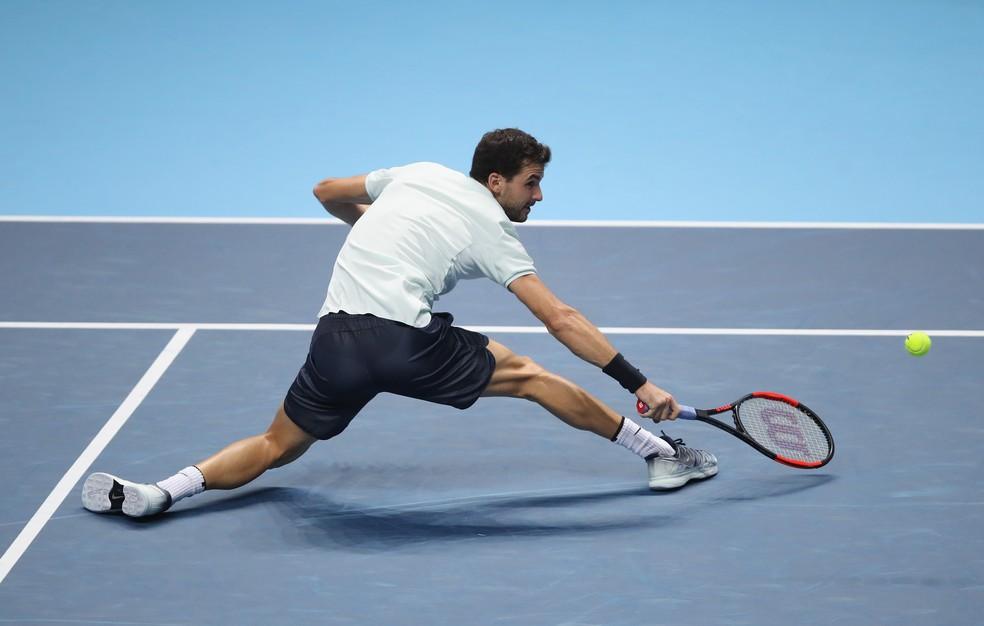 Grigor Dimitrov vence o Torneio dos Campeões da ATP em Londres  (Foto: Getty Images)