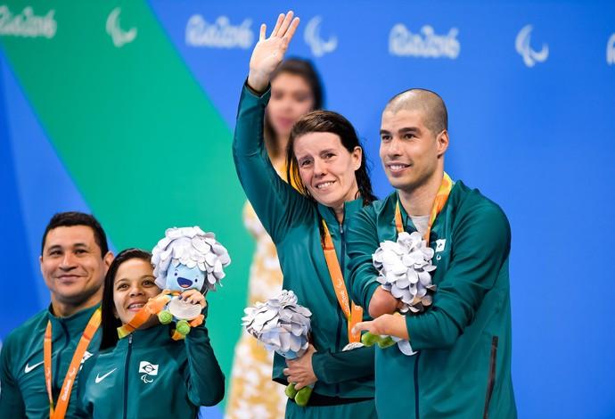 Resultado de imagem para fotos do quarteto misto Clodoaldo Silva, Joana Maria Silva, Susana Schnarndorf Ribeiro e Daniel Dias 2016