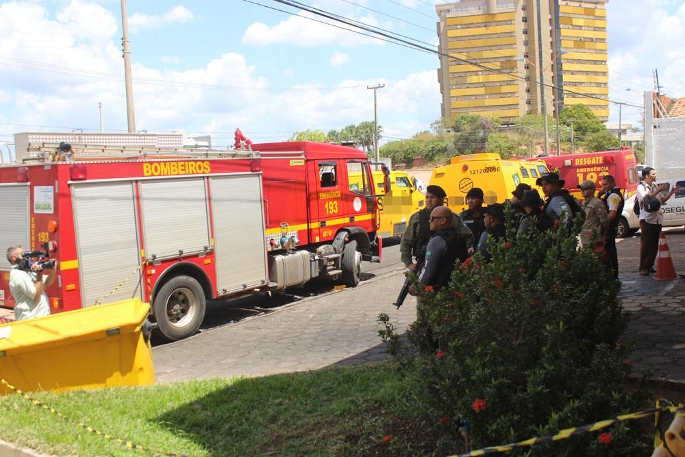 Explosão em empresa de segurança deixa três funcionários feridos em Teresina