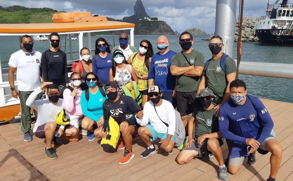 Primeiro grupo fez a visita nesta segunda-feira (31) — Foto:  Fabiane Vilela/Divulgação