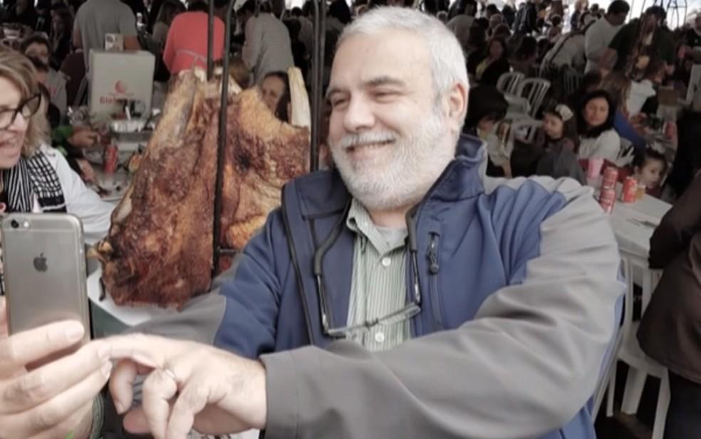 Luiz Villela, economista de Petrópolis que morreu de coronavírus — Foto: Arquivo pessoal