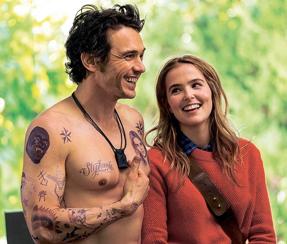 Zoey Deutch e James Franco no filme Tinha Que Ser Ele? (2016) (Foto: Dilvulgação)