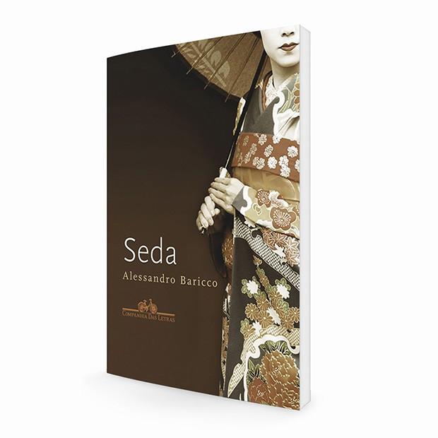 O livro Seda, do escritor italiano Alessandro Baricco, foi o ponto de partida da nova coleção (Foto: Divulgação)