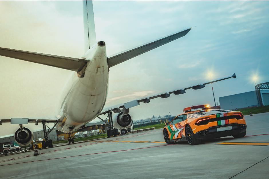 Lamborghini Huracán entrará em operação no aeroporto italiano de Bolonha (Foto: Divulgação)