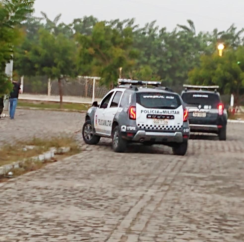 Confronto aconteceu na comunidade Padre João Maria, em São Gonçalo do Amarante  — Foto: Polícia Civil do RN/Divulgação