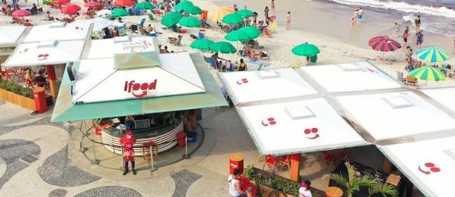 IFood na orla carioca: revitalização de quiosques