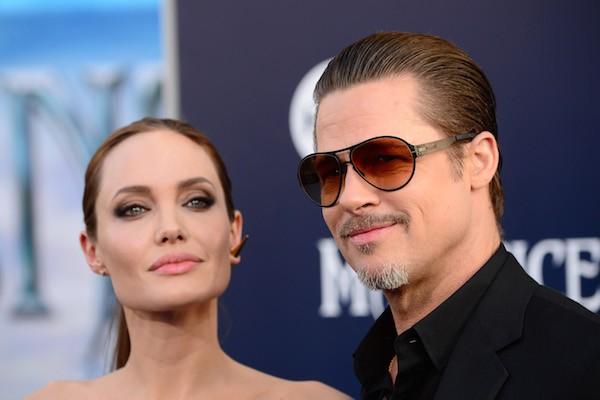 A atriz Angelina Jolie e seu ex-marido, o ator Brad Pitt (Foto: Getty Images)