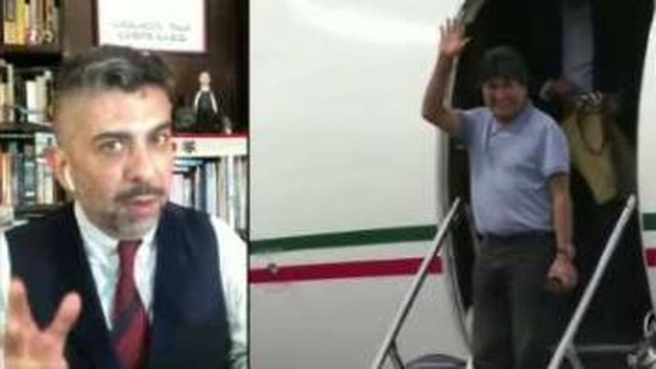 Evo Morales teria saído de avião de Buenos Aires para Caracas