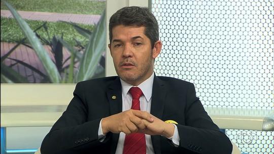 Delegado Waldir é entrevistado pelo Jornal Anhanguera 1ª Edição