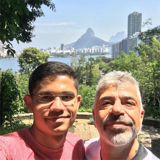 Clebson Teixeira e Lulu Santos (Foto: Reprodução/Instagram)