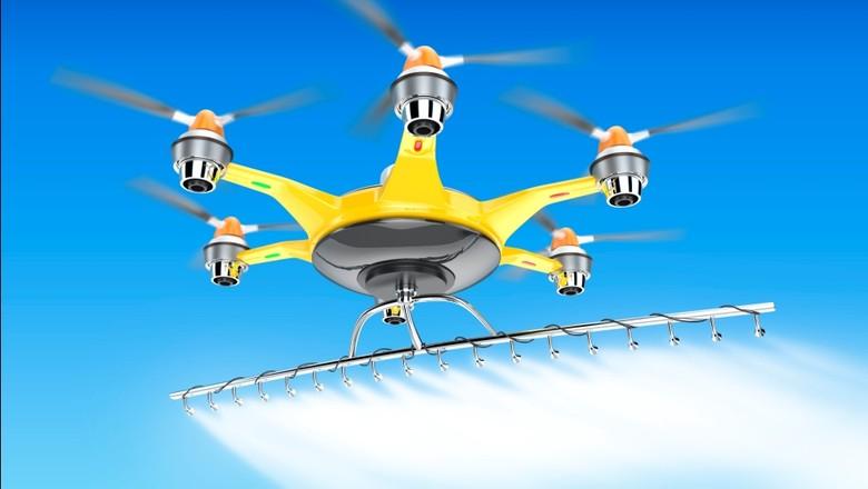 drone-pulverizador-tecnologia-inovacao (Foto: Thinkstock)