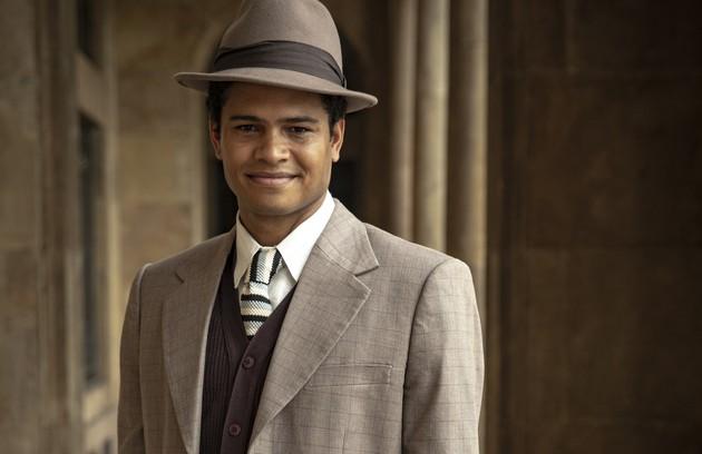 Guilherme Ferraz será Marcelo, um rapaz de origem humilde que foi adotado por uma família rica. Ele se torna amigo de Carlos e logo se tornará íntimo da família Lemos (Foto: TV Globo)