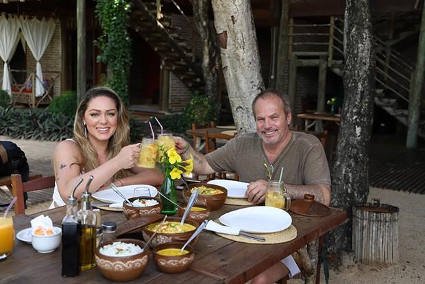 Tânia Mara e Jayme Monjardim (Foto: Olivardo Vasconcelos)