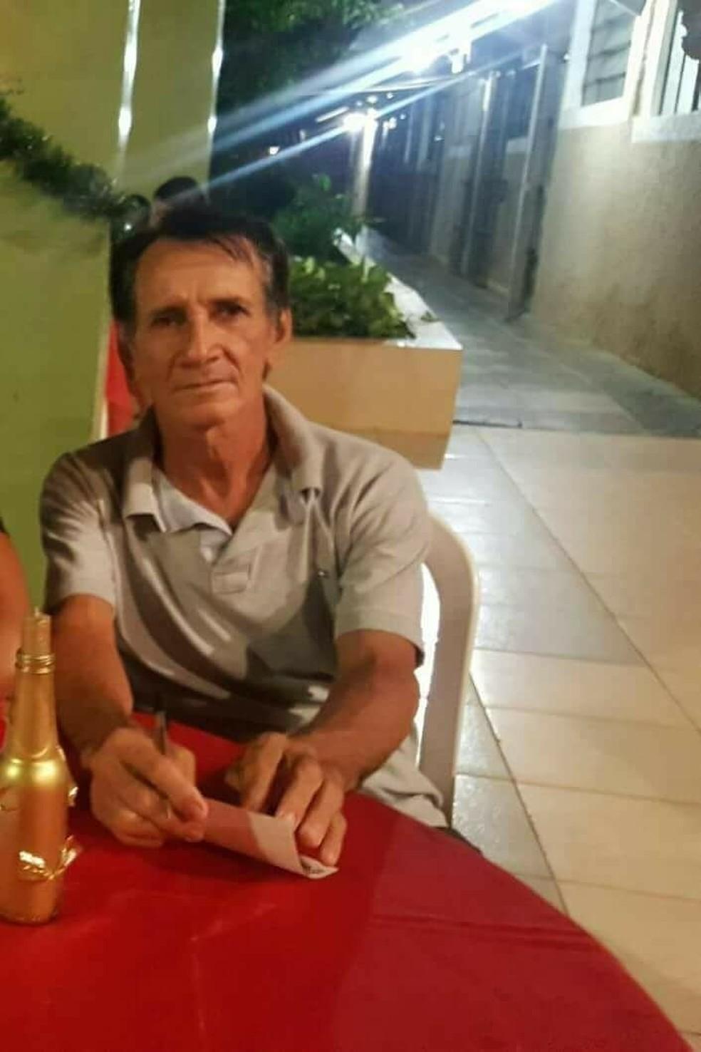 Manoel Rodrigues desapareceu no dia 10 de janeiro de 2018 (Foto: Arquivo Pessoal)