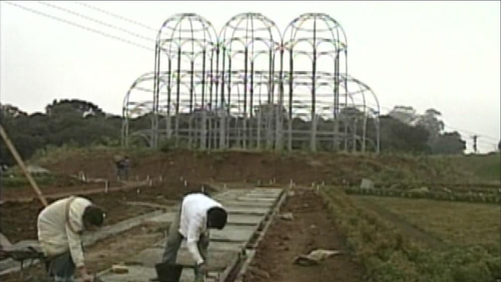 O Jardim Botânico foi inaugurado em 1991, pelo prefeito Jaime Lerner — Foto: Arquivo/RPC
