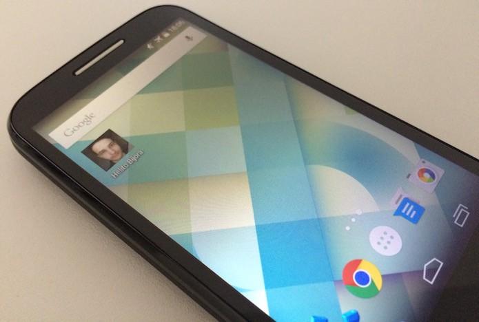 Aprenda a adicionar um atalho para um contato na tela inicial do Android (Foto: Reprodução/Helito Bijora)
