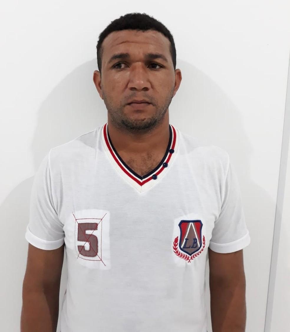 José da Silva Oliveira, de 32 anos, é do Maranhão e estava hospedado na casa do avô da vítima — Foto: Polícia Civil/Divulgação