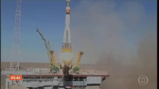 Sensor danificado provocou problemas em lançamento de foguete no Cazaquistão