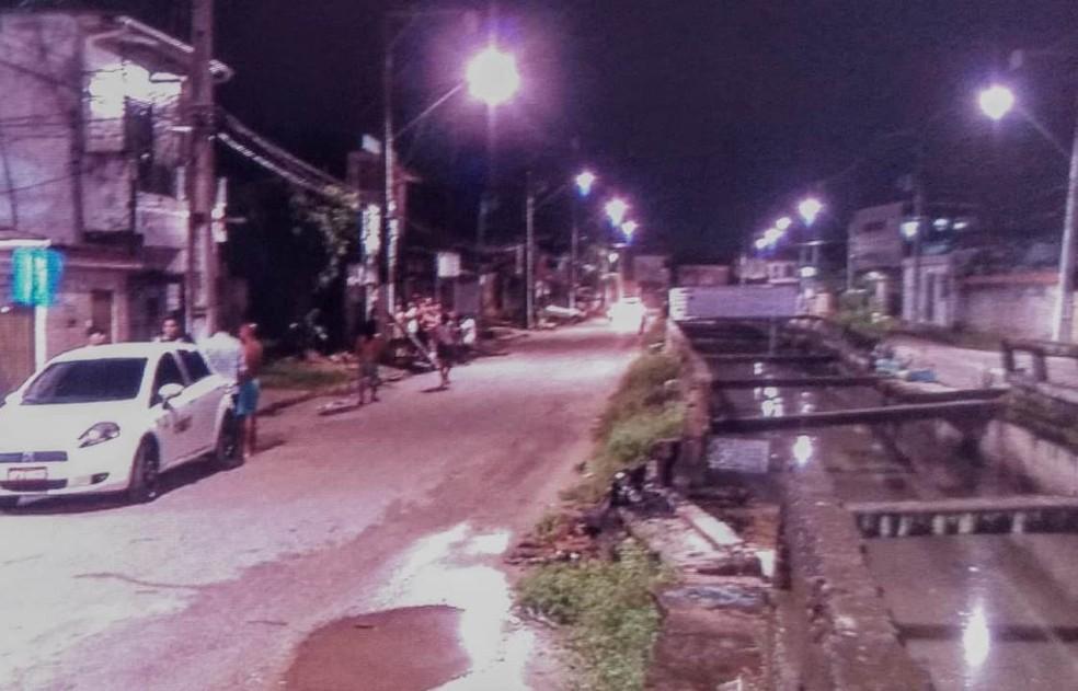 local do crime - Vítima atingida em tiroteio morre na UPA da Terra Firme, em Belém