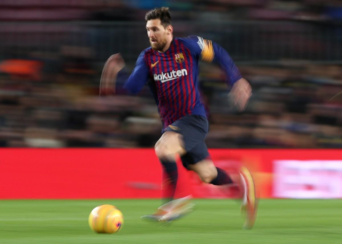 7f4c691c79 Messi se aproxima de ser o segundo maior artilheiro de um campeonato  nacional na Europa