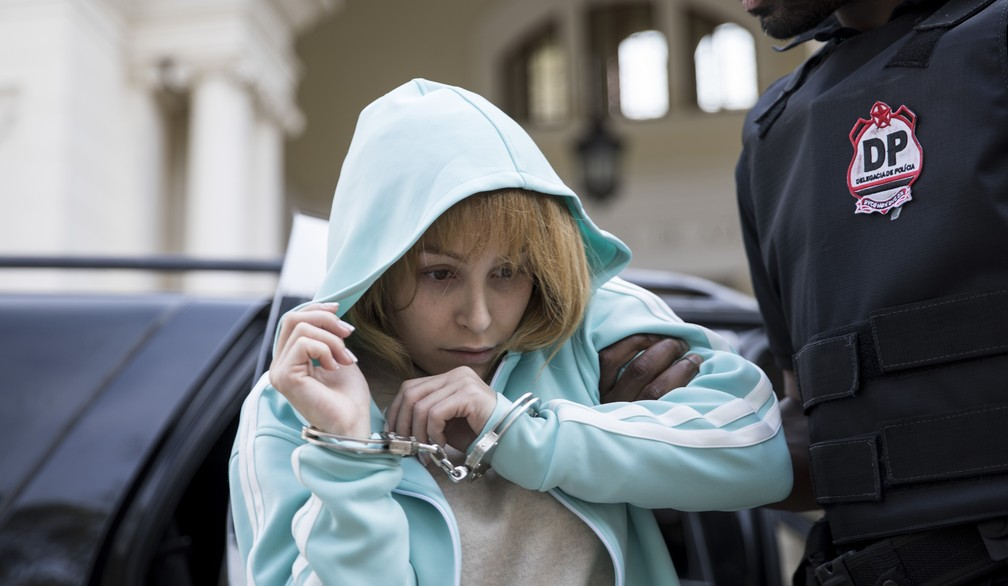 Carla Diaz em filme sobre a história de Suzane von Richthofen — Foto: Divulgação