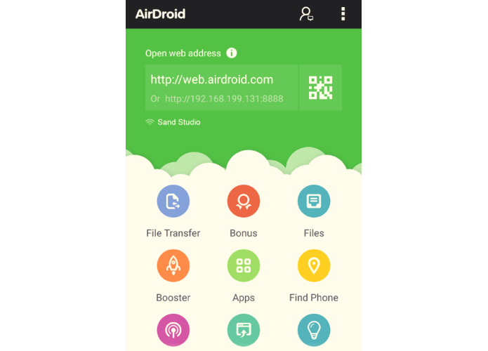 App do AirDroid para Android está mais bonito, mas ainda não traz Materal Design (Foto: Divulgação)