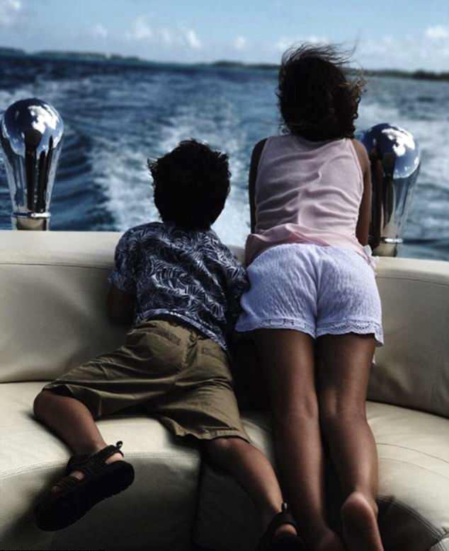 Halle Berry e os filhos (Foto: Instagram)