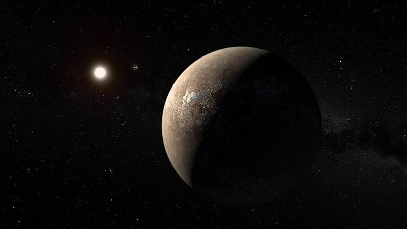 Representação artística de Proxima Centauri b (Foto: ESO/M. Kornmesser/Wikimedia Commons)
