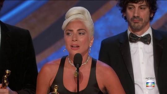 'Shallow' faz Lady Gaga bater recorde de música com mais prêmios da história: 32 estatuetas