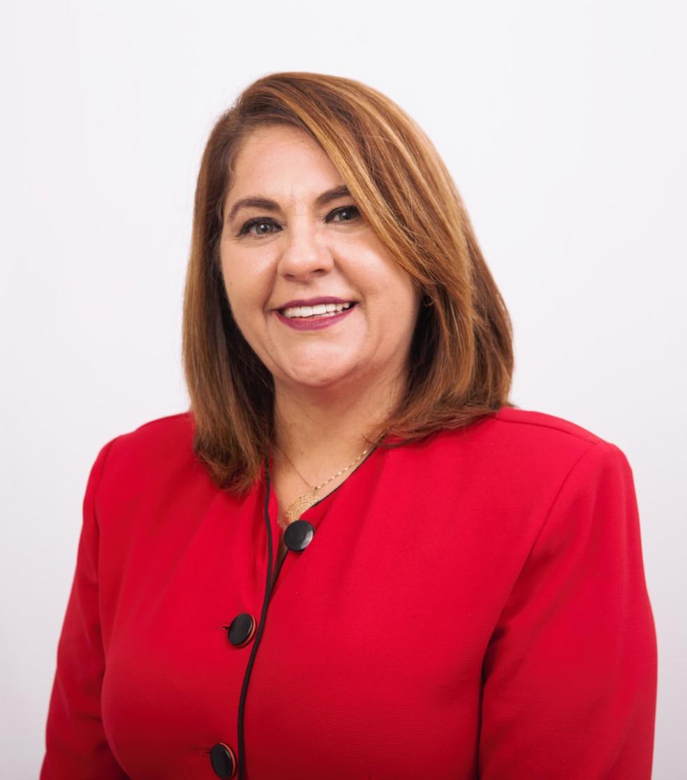 Márcia Bin é eleita à prefeitura de Poá pelo PSDB — Foto: PSDB/Divulgação