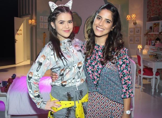Maisa Silva e Camilla Camargo contracenaram juntas em Carinha de Anjo (Foto: Manuela Scarpa/Brazil News)