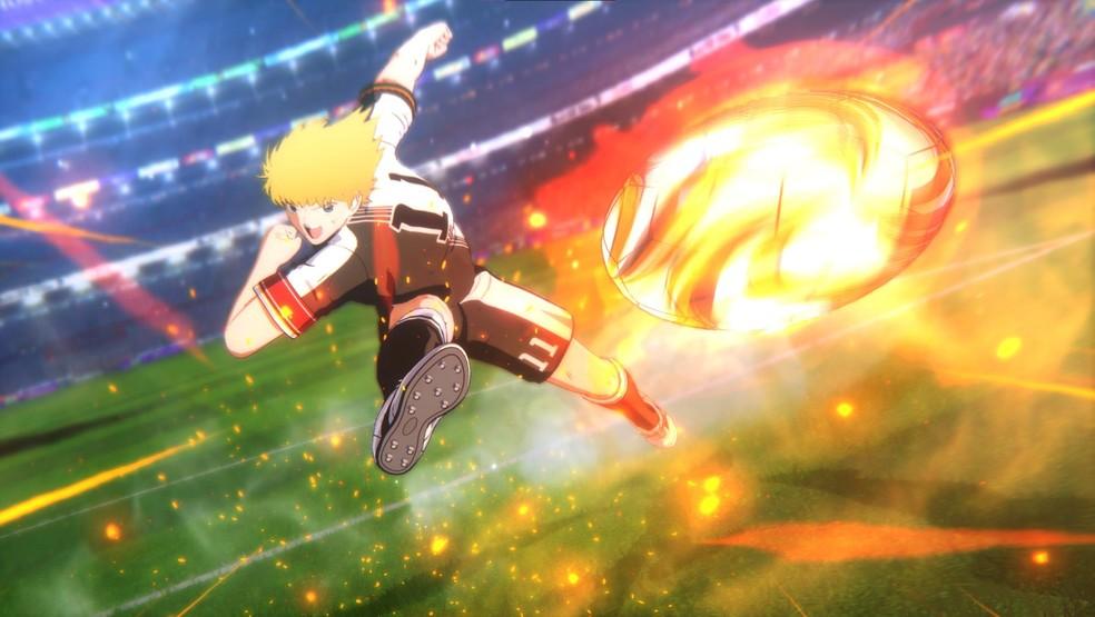"""Captain Tsubasa: Rise of New Champions traz toda a ação de """"Super Campeões"""" em sua melhor forma ao mundo dos games — Foto: Reprodução/Steam"""