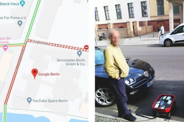 """Dezenas de celulares """"hackeraram"""" o sistema de navegação do Google (Foto: Divulgação)"""
