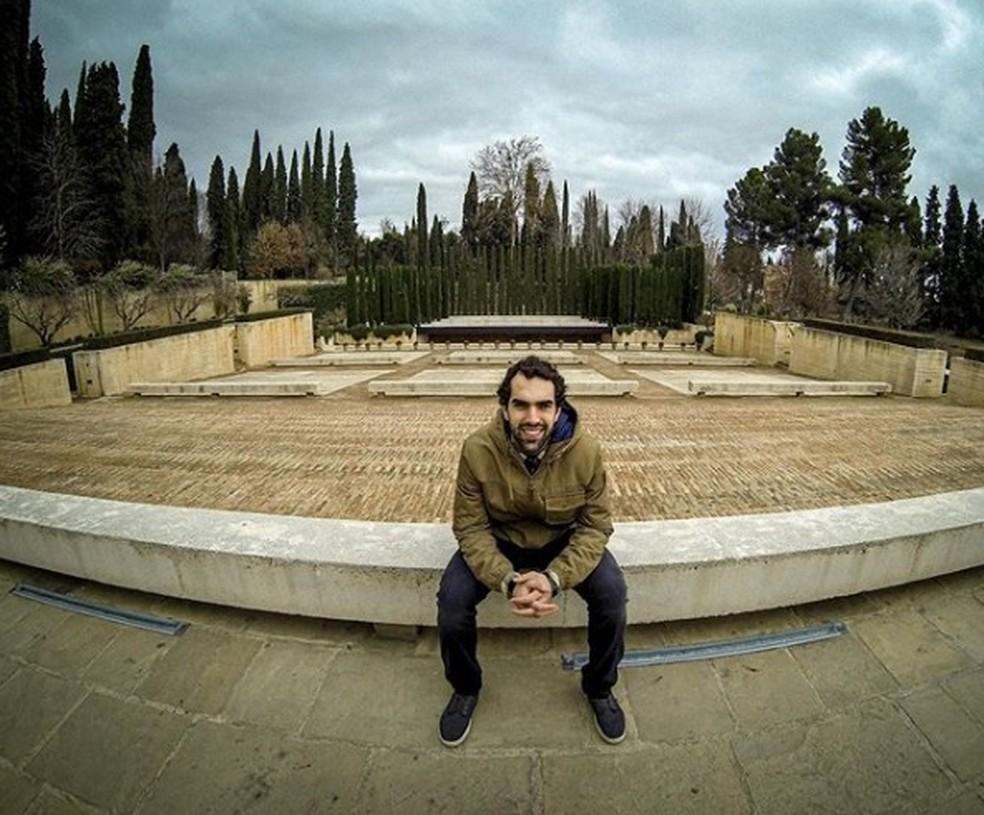 Vitor Benite vive no Norte da Espanha — Foto: Reprodução/Instagram