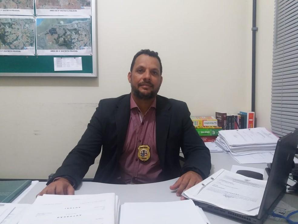 Delegado Felipe César Mendonça, da Superintendência de Homicídios e Proteção à Pessoa (SHPP) no Maranhão. — Foto: Alessandra Rodrigues/Mirante AM.