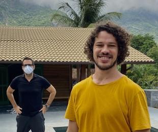 José Loreto fala sobre as obras em sua nova casa (Arquivo pessoal)