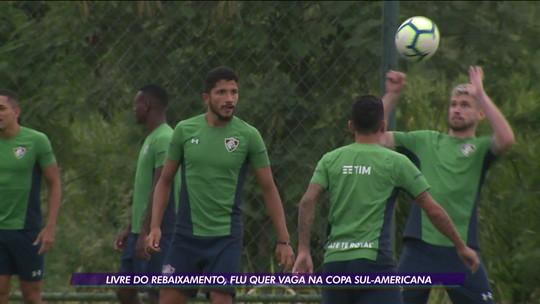 Livre do rebaixamento, Fluminense quer vaga na Copa Sul-Americana