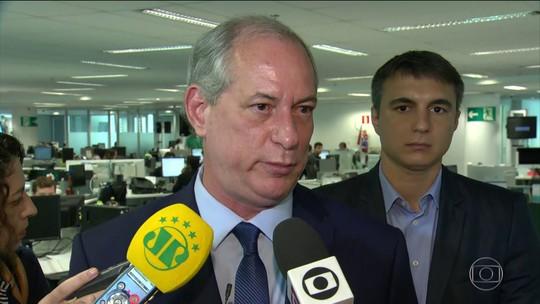 Veja o que é #FATO ou #FAKE na sabatina de Ciro Gomes no jornal 'O Globo'