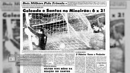 Redação AM: Alberto Rodrigues narra a vitória do Cruzeiro pela Taça Brasil de 1966